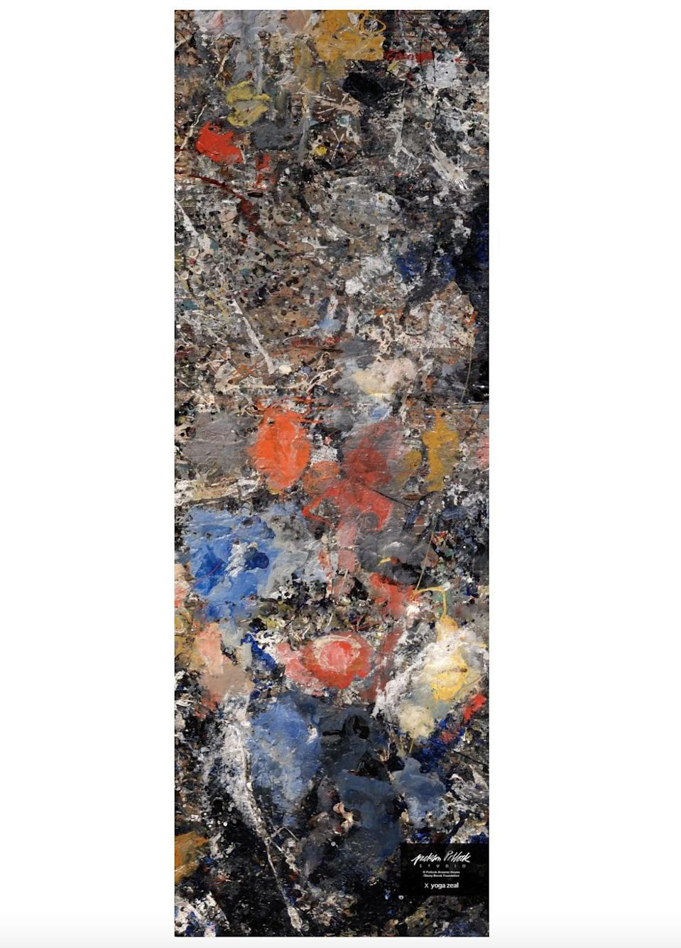 <p>The <span>Yoga Zeal Jackson Pollock Studio Floor Mat</span> ($99) is a collaboration with the iconic artist's studio, and it's the perfect choice for any art-lover.</p>
