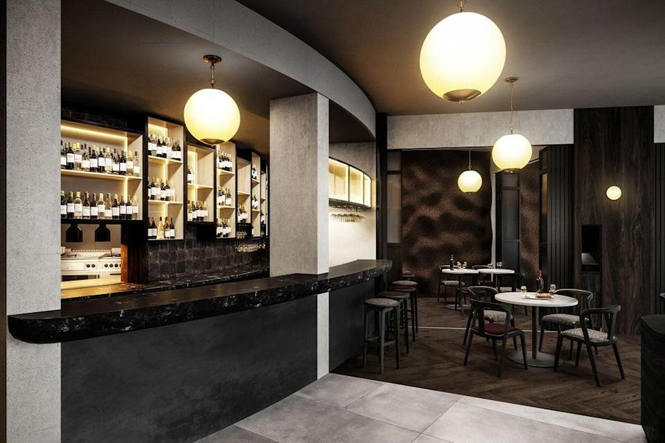 Good energy: a render showing what the bar may look like (Press handout)