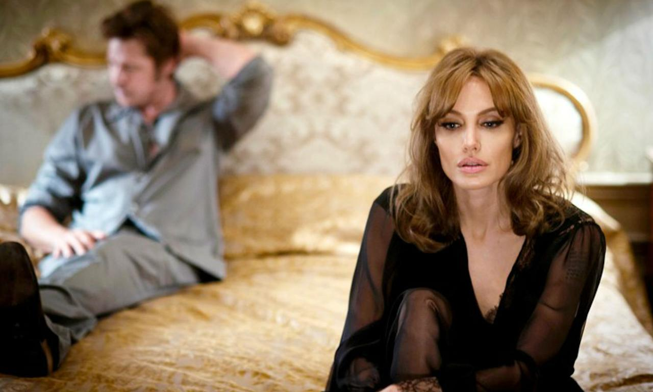 <p>Brad and Angelina's own marriage was put to the test shooting this romantic drama about a married couple on the brink of separation. Jolie said she's glad they did the movie as it helped communicate issues within their marriage but inevitably there were things wrong that couldn't be fixed and she filed for a divorce a year later. </p>