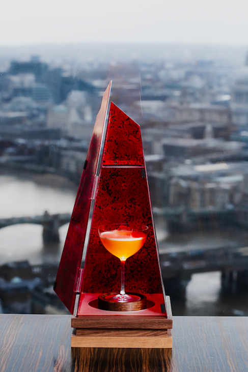 """<p>What's better than a good cocktail? A cocktail with a view, that's what. Promising a clear look over Tower Bridge, Oblix East sits on the 32nd floor of The Shard. With culinary cocktails that each have their own 'thing', everything about this place is Instagram-friendly, from the view over East London to their aesthetic drinks.</p><p>Latest additions to the menu include Born a Star, Oblix's satisfyingly sweet passion fruit and blood orange cocktail that comes served in a replica of The Shard itself. While this impressive hero drink will set you back £20, we'd argue that for the view, attentive service and well balanced flavours it's worth it.</p><p>If that's not your cup of tea there are plenty of other options on offer, with our next menu highlight being their Bubble Gum Martini, a mild drink of rhubarb and lemongrass that features bubble smoke. Treat yourself to a side of their perfectly crisped fried chicken and caviar sour cream dip and you're in for a good night.</p><p>Find <a href=""""https://www.oblixrestaurant.com/restaurant/east/"""" rel=""""nofollow noopener"""" target=""""_blank"""" data-ylk=""""slk:Oblix East"""" class=""""link rapid-noclick-resp"""">Oblix East</a> at 46-50 Gainsford St, London.</p>"""