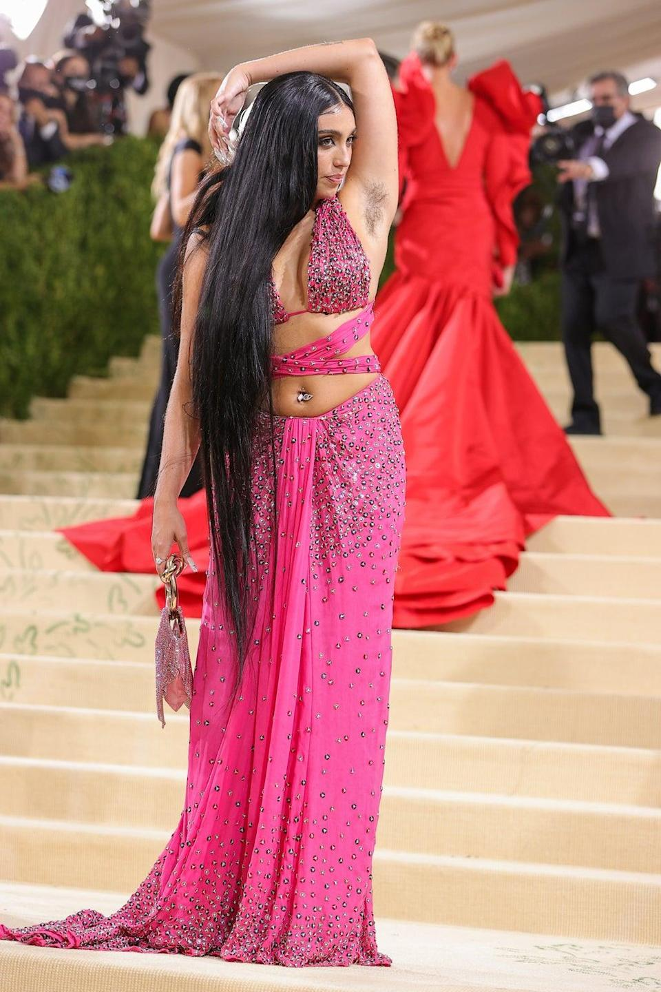 Lourdes Leon at the 2021 Met Gala (Getty Images)