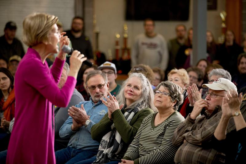 Votes have consistently questioned whether Sen. Elizabeth Warren can defeat President Donald Trump because of the sexist attacks he's likely to throw her way. (Photo: Andrew Harnik/HuffPost)