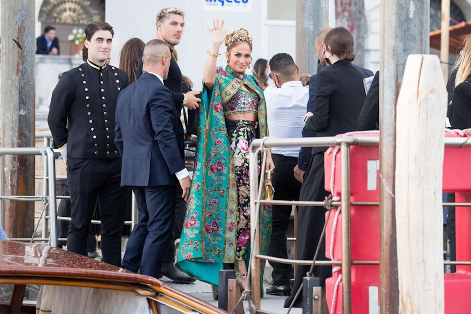 Ciara looks chic in metallic at the Alta Moda show on August 29, 2021 in Venice, Italy. (Getty Images) Jennifer Lopez is seen during the Dolce&Gabbana Alta Moda show on August 29, 2021 in Venice, Italy. (Getty Images) VENICE, ITALY - AUGUST 29: Helen Mirren is seen during the Dolce&Gabbana Alta Moda show on August 29, 2021 in Venice, Italy. (Photo by Jacopo Raule/Getty Images) D'Lila Star Combs and Jessie James Combs are seen during the Dolce&Gabbana Alta Moda show on August 29, 2021 in Venice, Italy. (Photo by Jacopo Raule/Getty Images) VENICE, ITALY - AUGUST 29: Leni Klum is seen during the Dolce&Gabbana Alta Moda show on August 29, 2021 in Venice, Italy. (Photo by Jacopo Raule/Getty Images) Lady Kitty Spencer is seen during the Dolce&Gabbana Alta Moda show on August 30, 2021 in Venice, Italy. (Photo by Photopix/GC Images)