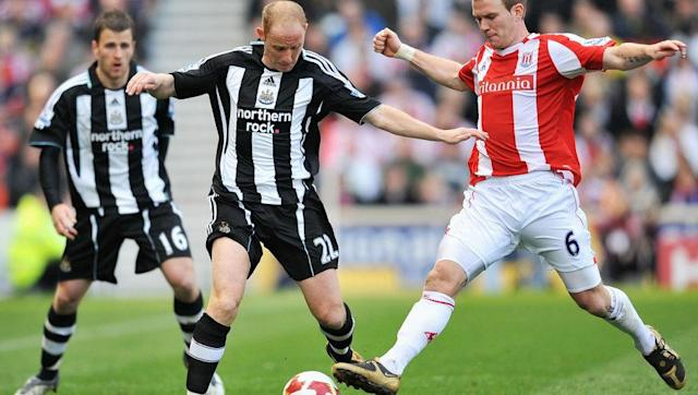 <p>Having came through with the 'class of 92' at Manchester United, Butt went on to win six league titles at Old Trafford.</p> <p>In 2004, Newcastle bought the midfielder for a measly £2.5m, and after an unsuccessful start to life in the north-east he was loaned to Birmingham in 2005/06.</p> <p>Butt faced his first experience of relegation that season, and returned to St James' Park at the end of the campaign.</p> <p>Butt spent four more years at Newcastle, and was relegated again in 2009, before helping the side regain their Premier League status a year later.</p>