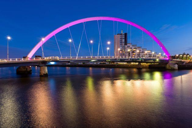 The Clyde Arc over the River Clyde, Glasgow (Photo: ChrisHepburn via Getty Images)