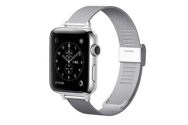 Stainless Steel Mesh Magnetic & AdjustableApple Watch Band Apple Accessories