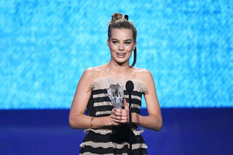 The Aussie powerhouse won for her role in I, Tonya. Photo: Getty