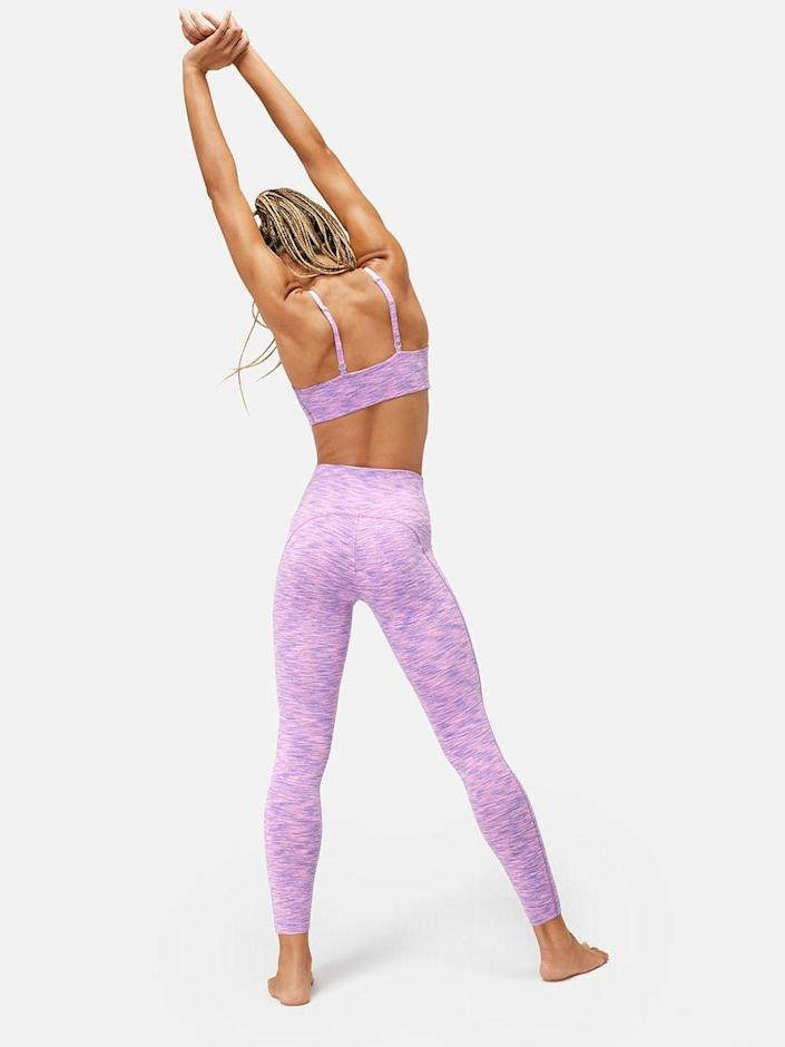 <p>Customers can't get enough of these <span>Outdoor Voices Flow 7/8 Leggings</span> ($88), and we have to agree. Also, the electric purple color is so fun.</p>