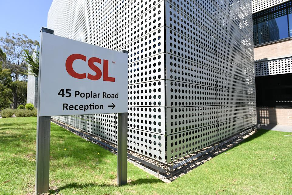 CSL will be locally producing the AstraZeneca vaccine to be distributed around Australia. Source: AAP
