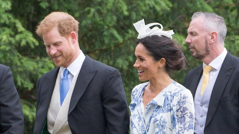 Meghan Markle and Prince Harry still have that newlywed glow.