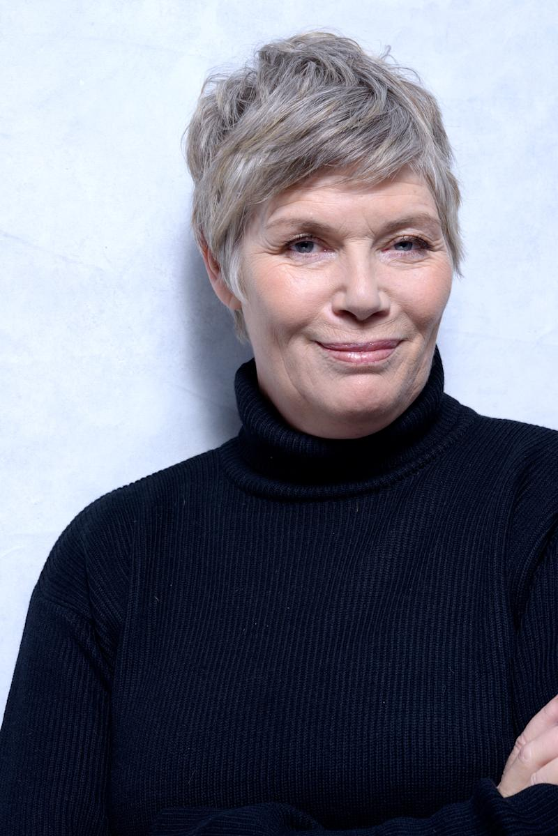 PARK CITY, UT - JANUARY 18: Actress Kelly McGillis poses for a portrait during the 2013 Sundance Film Festival at the WireImage Portrait Studio at Village At The Lift on January 18, 2013 in Park City, Utah. (Photo by Jeff Vespa/WireImage)