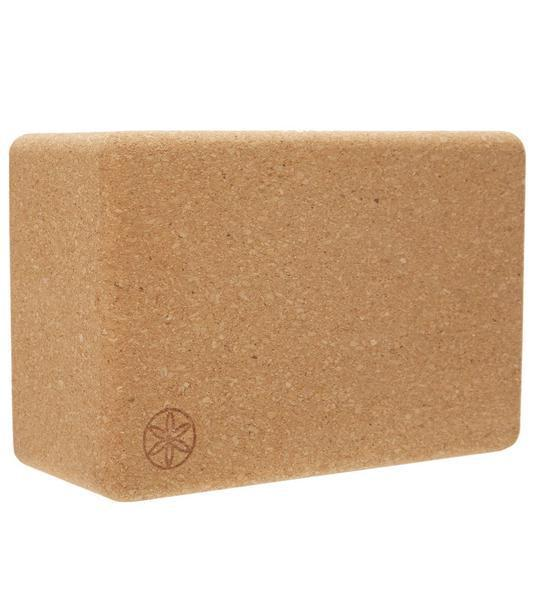 """<h3>Natural Cork Yoga Block<br></h3> <br>""""For blocks, there's no need to spend a crazy amount,"""" Roberts tells us. """"If you have extra change, you can get the cork blocks — they're a little bit more sturdy."""" <br><br><strong>Gaiam</strong> Natural Cork Yoga Block Standard 4 Inch, $, available at <a href=""""https://go.skimresources.com/?id=30283X879131&url=https%3A%2F%2Fwww.yogaoutlet.com%2Fproducts%2Fgaiam-natural-cork-yoga-block-standard-4-inch-45967"""" rel=""""nofollow noopener"""" target=""""_blank"""" data-ylk=""""slk:Yoga Outlet"""" class=""""link rapid-noclick-resp"""">Yoga Outlet</a><br>"""