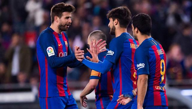 <p><strong>Average goals conceded per game: 0.75 (9 goals in 12 games)</strong></p> <br><p>Tied in 9th position with both Atletico and Villarreal, Barcelona are known far more for their attacking prowess than their defensive stability. </p> <br><p>Nonetheless, the <em>Blaugrana</em> have done a good job so far this year at the back, with Samuel Umtiti in particular an outstanding performer, in what is his first season at the Nou Camp.</p>