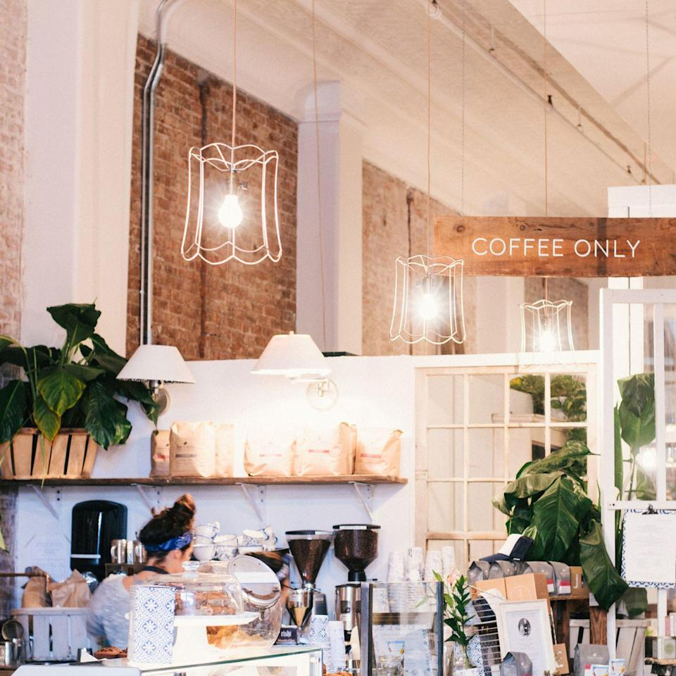 "<p>It's not possible to get a coffee without also adding one of this <a href=""https://www.tripadvisor.com/Restaurant_Review-g60763-d7285005-Reviews-Maman-New_York_City_New_York.html"" rel=""nofollow noopener"" target=""_blank"" data-ylk=""slk:French bakery/cafe's"" class=""link rapid-noclick-resp"">French bakery/cafe's</a> famous chocolate chip cookies to your order. Started in Soho in 2014 by Ben Sormonte and Elisa Marshall, this charming chainlet has quicky grown and now has numerous downtown locations. </p>"