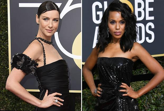 They saw a red carpet and they wanted to paint it black. Some of the biggest names in Hollywood on Sunday chose to walk the 75th Golden Globes red carpet in all (or mostly) black to show their solidarity with the Time's Up movement, which aims to bring awareness — and ultimately a solution — to sexual […]