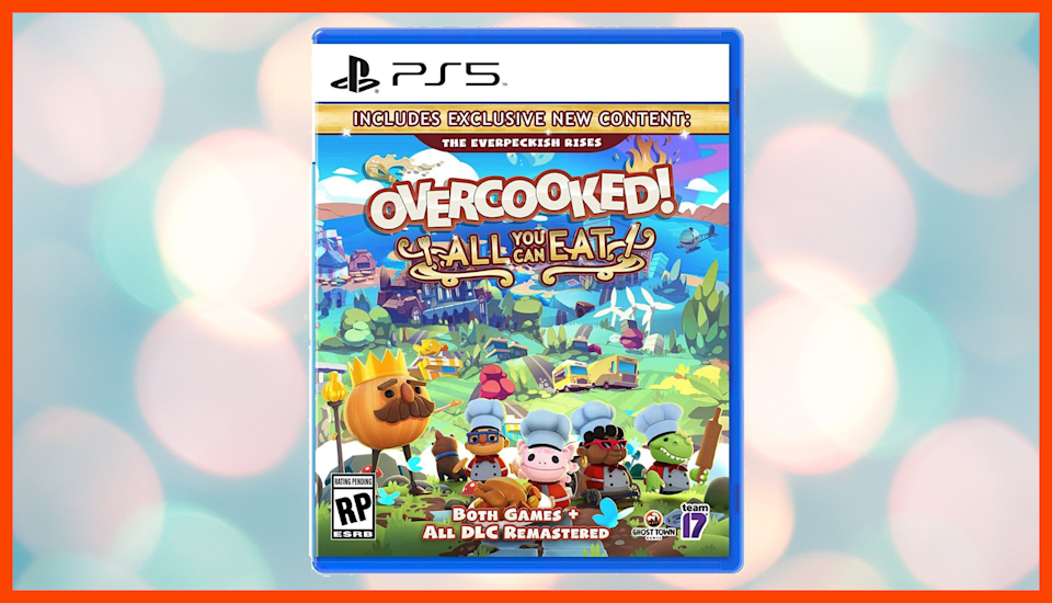 Save 20 percent on Overcooked! All You Can Eat for PlayStation 5. (Photo: Amazon)