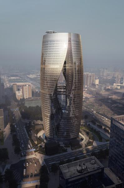 Scheduled for completion in 2018, Beijing's Leeza Soho Tower was one of the last designs Zaha Hadid touched before her untimely death