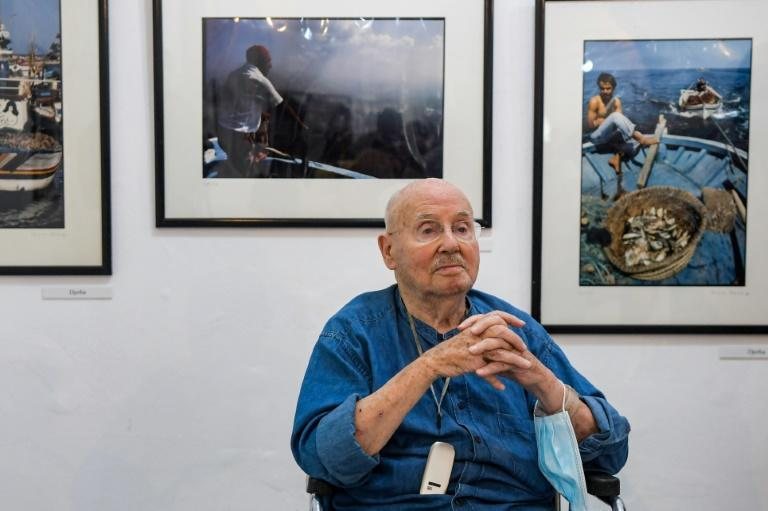 Born to a Tunisian father and a German mother, the 90-year-old Perez says he started photography between the ages of 11 and 12 (AFP/FETHI BELAID)