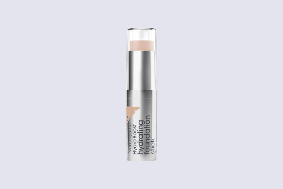 """<p>A foundation stick is a great option for those with dry complexions—these formulas' built-in creaminess virtually guarantees moisture. Dr. Garshick prefers Neutrogena's iteration. """"Additionally, as a stick, it can be used to provide natural coverage, help conceal certain blemishes or <a href=""""https://www.marthastewart.com/1526012/under-eye-bags-dark-circles-treatment"""" rel=""""nofollow noopener"""" target=""""_blank"""" data-ylk=""""slk:the undereye area"""" class=""""link rapid-noclick-resp"""">the undereye area</a>, and contour areas such as the cheekbones,"""" she adds.</p> <p><strong><em>Shop Now: </em></strong><em>Neutrogena Hydro Boost Foundation Stick</em><em>, $15, <a href=""""https://goto.target.com/c/249354/81938/2092?subId1=MSL13ExpertApprovedFoundationsforDrySkinrhaarsBeaGal7986001202009I&u=https%3A%2F%2Fwww.target.com%2Fp%2Fneutrogena-hydro-boost-hydrating-tint-foundation-with-hyaluronic-acid-honey%2F-%2FA-75560397"""" rel=""""nofollow noopener"""" target=""""_blank"""" data-ylk=""""slk:target.com"""" class=""""link rapid-noclick-resp"""">target.com</a></em><em>.</em></p>"""