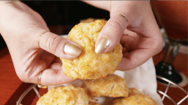 <p>Can you imagine if we DIDN'T put this on here? These golden, tender biscuits are bottomless and can turn any bad day around. Some will say these biscuits are meant to be filler and keep you from getting to the good stuff, but I think these *are* the good stuff.</p>