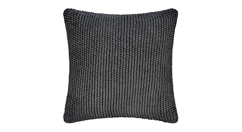 Metallic Cable Knit Cushion