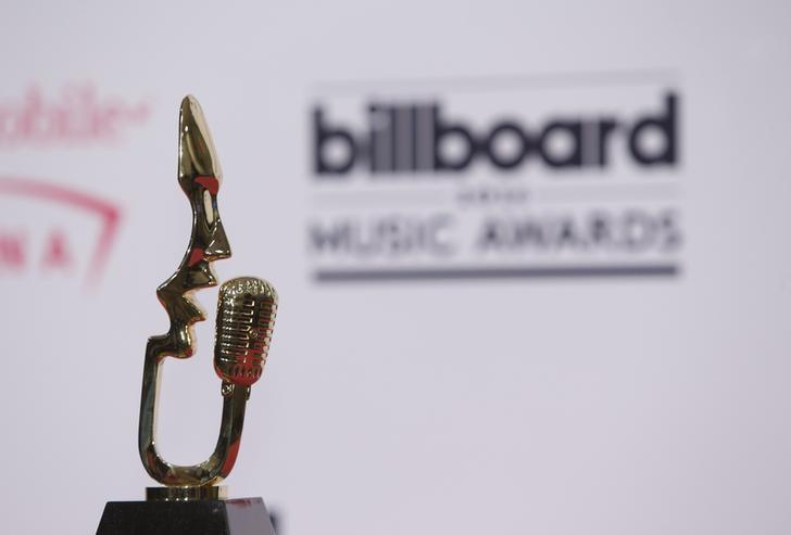 General view of the Billboard award backstage at the 2016 Billboard Awards in Las Vegas