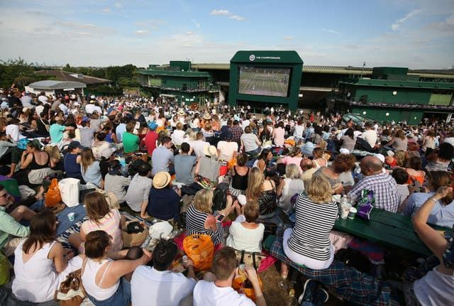 Wimbledon 2016 – Day Nine – The All England Lawn Tennis and Croquet Club