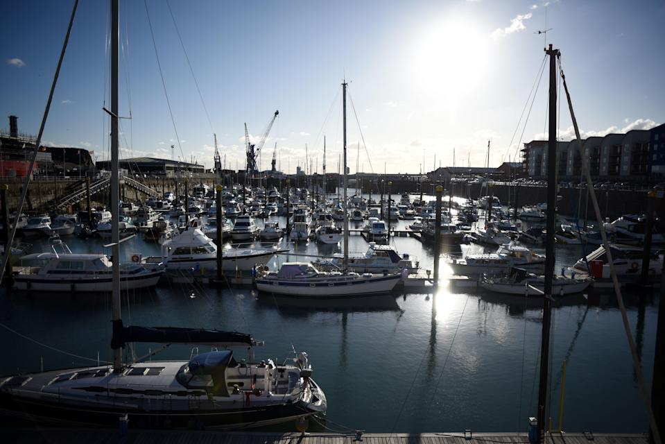 <p>Jersey is a British Crown Dependency, with a population of 100,000</p> (AFP via Getty Images)