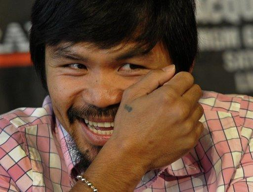"Manny ""Pacman"" Pacquiao, a national hero in the Philippines, says he had a religious vision"