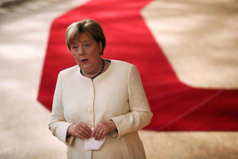 Germany's Chancellor Angela Merkel said the 27 leaders had 'many positions' on the size of the fund, on rules for accessing it and on tying it to respect for the rule of law