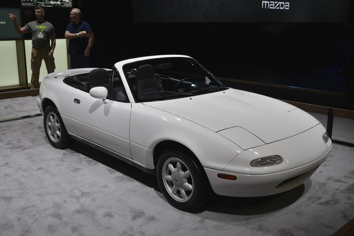 The MX-5 has gone on to be one of the most iconic roadsters of all time
