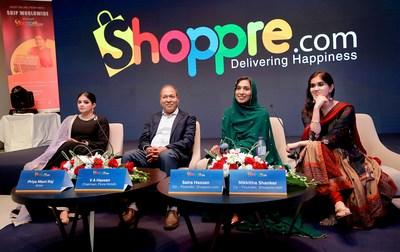 ShoppRe shoppers across the globe a virtual shipping address along with a personal locker in the city of Bengaluru. They recently held their Ad Launch in Dubai, UAE
