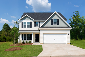 This four-bedroom, two-and-a-half bath home features a large chef-ready kitchen, spacious bedrooms and a flex room.