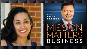 Andie Monet, CEO of Strategic Solutions & Development International Inc., is interviewed on the Mission Matters Business Podcast with Adam Torres.