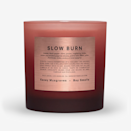 """Slow Burn—named after <a href=""""https://www.glamour.com/story/kacey-musgraves-march-2019-cover-story?mbid=synd_yahoo_rss"""" rel=""""nofollow noopener"""" target=""""_blank"""" data-ylk=""""slk:Kacey Musgraves"""" class=""""link rapid-noclick-resp"""">Kacey Musgraves</a>' opening song from her latest album, <em>Golden Hour</em>—is an intense candle. But what makes this one unique and so perfectly suited for fall is its dominant black pepper and guaiac wood notes; and a touch of ember you only suddenly notice (kind of like when you put on a jacket and get a fleeting whiff of perfume you wore months ago). It's also described as a little """"dank and crisp,"""" and even though those two words have no business being paired together, it only makes sense for a Boy Smells candle. $39, Boy Smells. <a href=""""https://boysmells.com/products/slow-burn"""" rel=""""nofollow noopener"""" target=""""_blank"""" data-ylk=""""slk:Get it now!"""" class=""""link rapid-noclick-resp"""">Get it now!</a>"""
