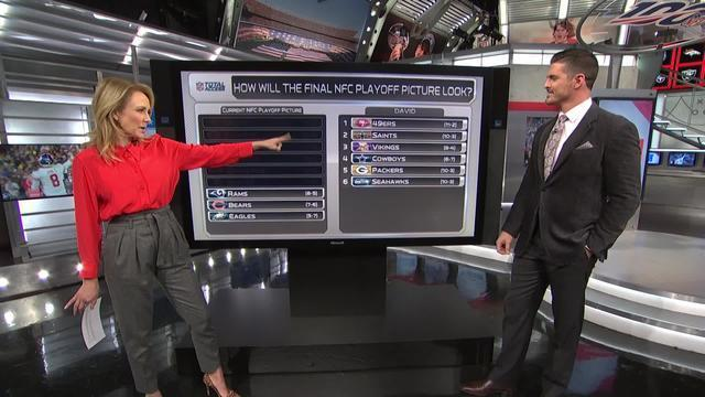 NFL Network's David Carr predicts how the NFC playoff picture will turn out.