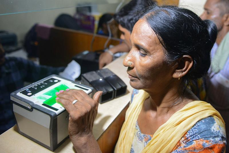 The government claims the Aadhaar scheme, which issues every Indian with a unique ID linked to fingerprints and iris scans, will streamline welfare services and root out fraud