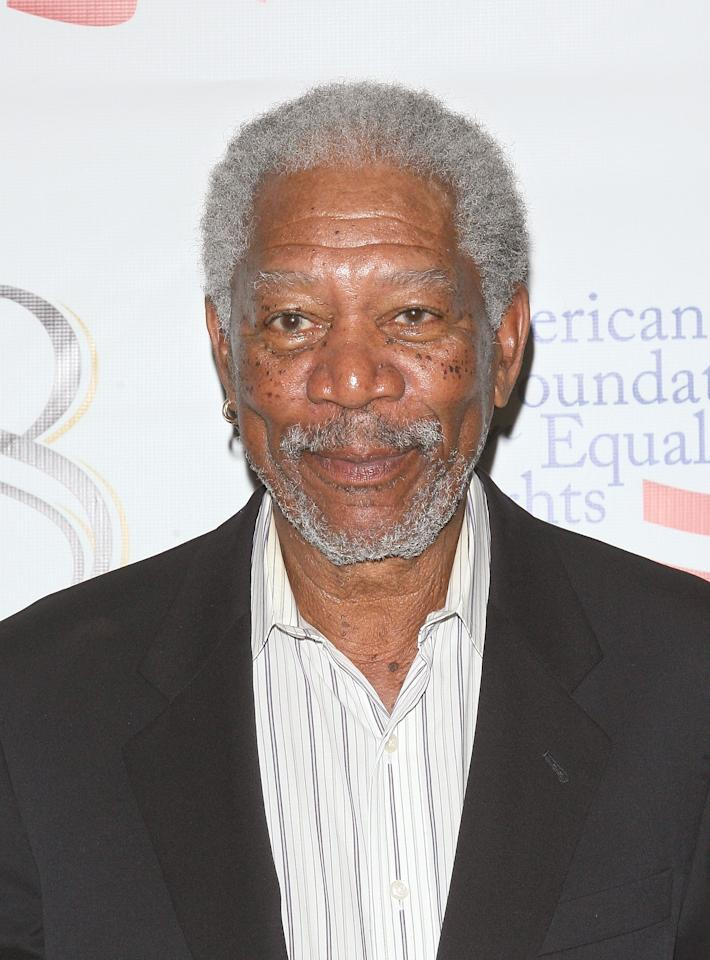 Morgan Freeman<br><br>Age: 74<br><br>Achievements: The Academy Award-winning actor has starred in over 70 films and this year received a Lifetime Achievement Award from the American Film Institute.<br><br>(Photo by Jim Spellman/WireImage)