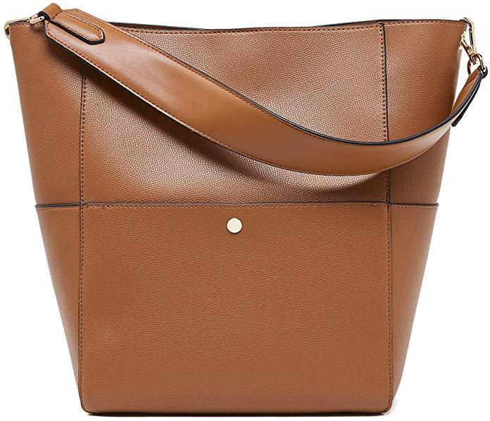 BOYATU Women's Leather Hobo Handbag (Photo: Amazon)