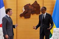 Macron kicked off a highly symbolic visit to Rwanda after three decades of diplomatic tensions