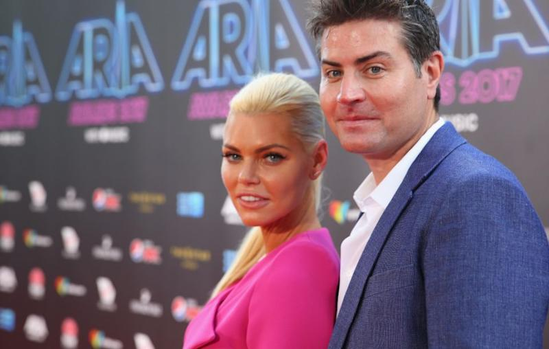 Life is now good for Sophie, who has started dating millionaire Stu Laundy. Source: Getty