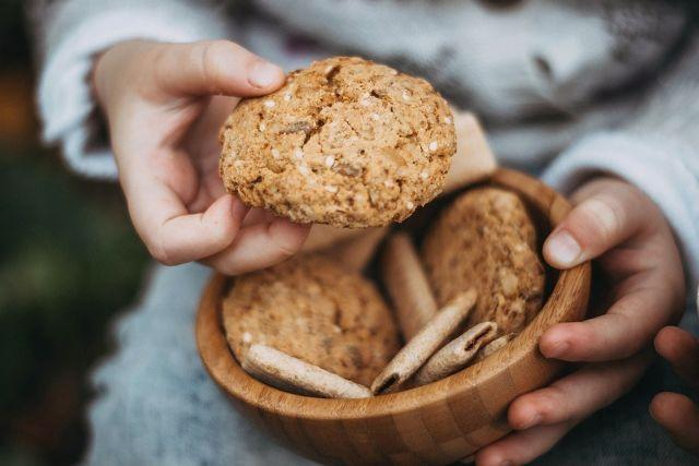 Easy Whole Wheat Oatmeal Dryfruits Cookies Recipe