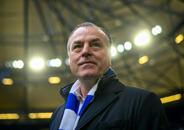 Schalke chairman Clemens Toennies stepped down for three weeks following racist comments he made in a speech last week (AFP Photo/SASCHA SCHUERMANN)