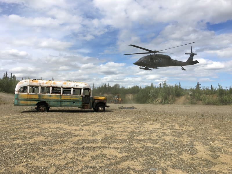 Adventurer's 'Into the Wild' bus may be headed to Alaska museum