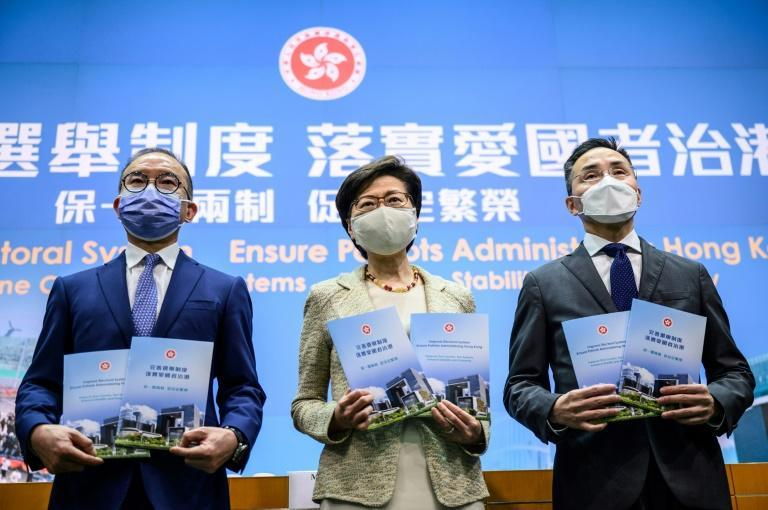 The new measures, which bypassed Hong Kong's legislature and were imposed directly by Beijing, are the latest move aimed at quashing the city's democracy movement