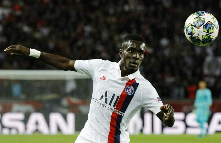 Idrissa Gueye was a standout performer in midfield for Paris Saint-Germain as they beat Real Madrid 3-0 in the Champions League (AFP Photo/GEOFFROY VAN DER HASSELT)