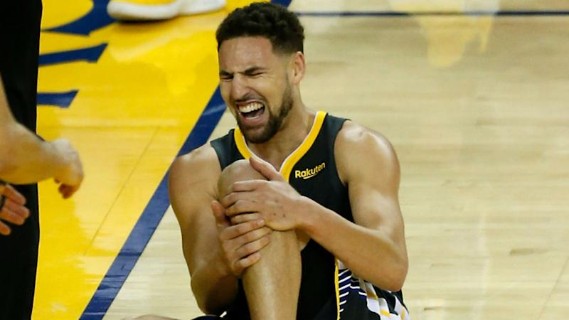 Warriors' desire to re-sign injured Klay Thompson 'doesn't change'
