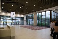 <p>The Arrival Hall area of the new Seletar Airport passenger terminal. (PHOTO: Yahoo News Singapore / Dhany Osman) </p>