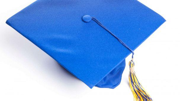 PHOTO: Blue graduation hat in a stock photo. (STOCK PHOTO/Getty Images)
