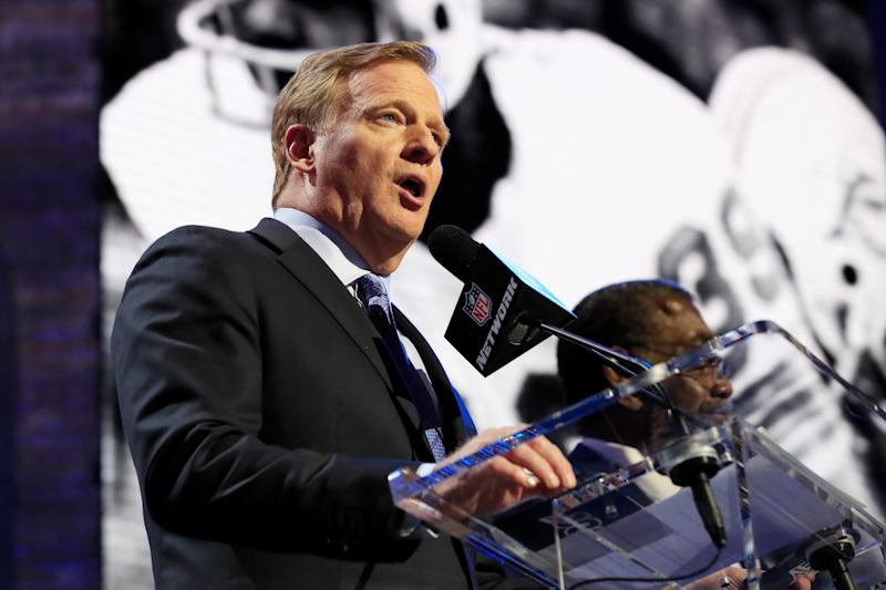The NFL draft will go on a scheduled from April 23-25. (Photo by Andy Lyons/Getty Images)
